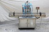 Máquina que capsula de relleno automática del fregado de las botellas con la máquina de etiquetado