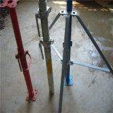 그려진 1-8m 고도 또는 Glavanized 비계 강철은 /Steel 폴란드 지원을 버틴다