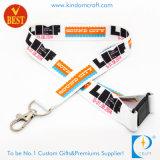OEM de promoción de los colores impresos personalizados a todo el Cordón de transferencia de calor