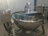 Нагрев электрическим током опрокидывая плита чайника Jaketed без смесителя