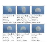 Échantillon gratuit HDPE Matériaux 10,5 mm Focus Fresnel Lens (HW8002-2)