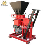 La petite fabrication usine la machine de fabrication de brique de couplage diesel et électrique d'argile de silo de Hf1-25 Eco Lego Nigéria