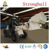 1,2 tonne ZL12 Chargeur à roues avec godet d'attelage rapide