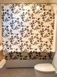 Tenda di acquazzone dei fiori PEVA per la stanza da bagno