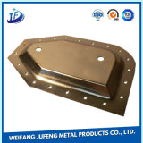 Soem anodisiertes Edelstahl-Metall, das Teile für Maschinen stempelt
