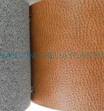 靴の価格のためのPU総合的なMicrofiberの革