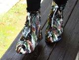 De hete Waterdichte Schoenen behandelen Opnieuw te gebruiken Regendichte Schoenen Zippered
