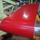Гофрированный металлический лист кровельных панелей крыши катушки PPGI Prepainted оцинкованной стали для создания