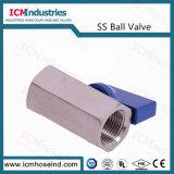 2PC 304/316 de Aço Inoxidável Porta completa da Válvula Esférica Grau alimentício
