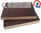 Sr. del pegamento de la madera contrachapada de la película de la base del álamo 9mm-21m m 1220*2440m m