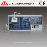 Macchina di plastica automatica di Thermoforming delle tre stazioni per il coperchio della tazza/cassetti/casella/piatto