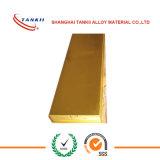 Resistência alta pressão C2.1285 DIN17500 a folha de cobre