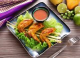 손 기술 다중층 상대적인 유약 물고기 모양 저녁식사 세트 식기류