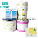 El papel de aluminio del papel de embalaje para Restaurante toalla refrescante húmedo/ el papel de aluminio para tejido húmedo/Las toallitas húmedas