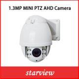 1.3MP de infrarode MiniCamera van de Koepel van de Hoge snelheid van PTZ Ahd IRL
