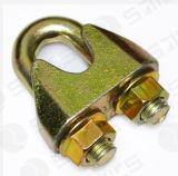 Maleable galvanizado Cable Clip para escribir un