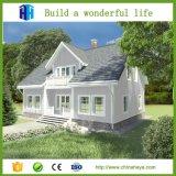 現代贅沢なプレハブの鋼鉄別荘のデュプレックス家中国製