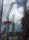 13m傾斜させたサポート0utrigger手動タイプコンクリート・スプレッダの具体的な置くブーム