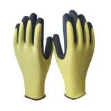 Comercio al por mayor amarillo mate de nitrilo Guante de basura para pies