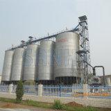 중국에 있는 최신 직류 전기를 통한 곡물 저장 강철 사일로