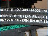 Beständiger Schlauch des Stahldraht-verstärkter Gummi-SAE 100 des Hydrauliköl-R17