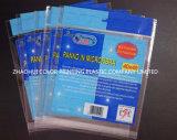 Bolso plástico del embalaje de la impresión de la cabecera de la alta calidad OPP