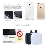 Compacte Draadloze Batterij Één van de Noodsituatie de Lader van de Keer voor Samsung, Huawei