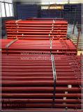 Construção em Aço de andaimes Descofragem Props Jack Barra de suporte do feixe ajustável
