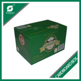 24 de Verpakkende Vakjes van het Document van het Bier van het Flessenglas