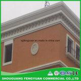 Moldeado duradero del perfil del goteo de la instalación fácil material decorativa EPS de la pared