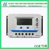 30A 45A 60A het ZonneControlemechanisme van de Last 12/24V met Dubbele USB