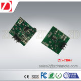 Módulo de transmissor sem fio pequeno do tamanho Zd-Tb03 315/433MHz para a escala de trabalho longa