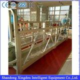 Plate-forme suspendue électrique d'échafaudage de qualité régulière
