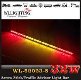 Da vara ambarina da seta do caminhão de 36 polegadas barra clara/luz conselheiro do tráfego