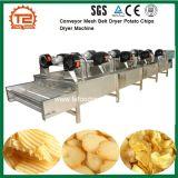 Nahrungsmitteltrocknendes Geräten-Förderanlagen-Ineinander greifen-Riemen-Trockner-Kartoffelchip-Trockner-Maschine