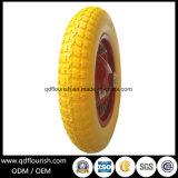 Rotella della gomma piuma dell'unità di elaborazione della gomma solida 3.25-8 per il carrello della carriola