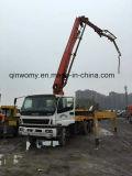 camion concreto della pompa utilizzato 10-Cylinders dei Isuzu-Telai 8*4-LHD-Drive Giappone Putzmeister di 37m