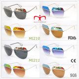 2017 последние моды Style Безободковые солнечные очки (ПВС-4)
