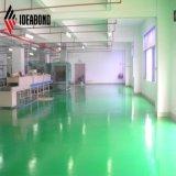 Varios colores metálicos PVDF y revestimiento de poliéster Panel Compuesto de Aluminio