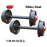 Insieme di rotella dell'automobile di estrazione mineraria dell'acciaio di getto del carbone della Cina