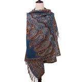Теплый способ Pashmina картины цветка шарфа