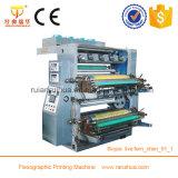 Machine à imprimer Flexo à 6 couleurs à haute vitesse en plastique