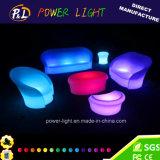 遠隔コントローラが付いているイベントの家具のラウンジ家具によって照らされるLEDの家具
