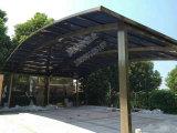 Het woon Duurzame Aluminium Carport van het Dak van het Polycarbonaat
