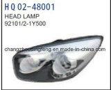 KIA Picanto 2016년 (S)를 위한 고품질 LED Head Lamp (OEM: 92101-1Y500 92102-1Y500)