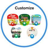 Ventilador de mão de plástico promocional personalizado