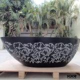 Italien-freistehende acrylsauerbadewannen-feste Oberflächenverkaufs-Badewanne