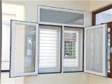 二重窓ガラスの振動別荘のための内部アルミニウム開き窓のWindows