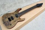 Guitare musique/7-String électrique de Hanhai avec le placage de noeud