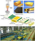 Section de tube de laines de verre d'isolation thermique pour des matériaux de construction